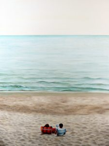 A spring morning at the sea small Gennaro Santaniello