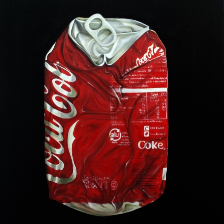 Gennaro Santaniello - Coca Cola can crushed