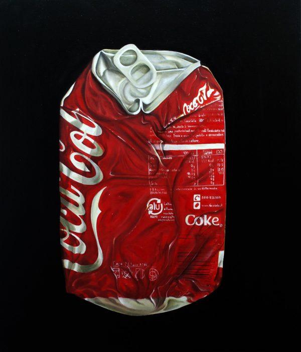 Gennaro Santaniello - Coca Cola can crushed