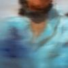 Gennaro Santaniello-Memories-Woman with blue coat detail 1