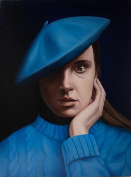 Gennaro Santaniello – Blue portrait s