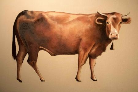 Gennaro Santaniello – Ox – detail 1