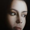 Gennaro Santaniello – portrait of woman during the pandemic 2 detail 1