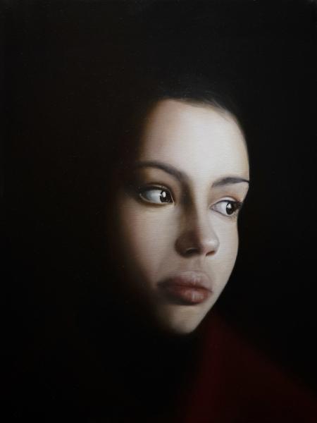 Gennaro Santaniello – portrait of woman during the pandemic 2 small