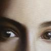 Gennaro Santaniello – portrait of woman during the pandemic detail 2
