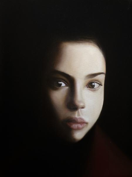 Gennaro Santaniello – portrait of woman during the pandemic small